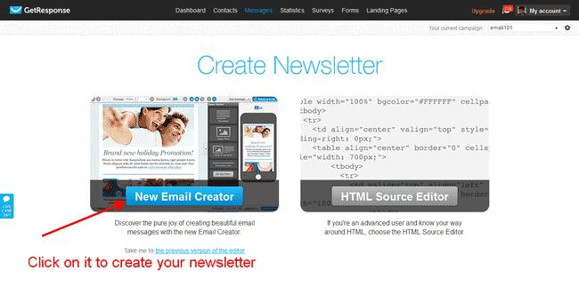 Getresponse email