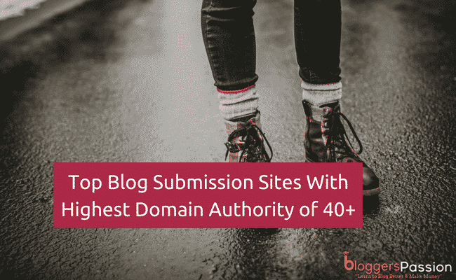 Top Blog Submission Sites 2018