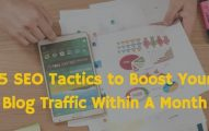 5 Incredible SEO Tactics to Double Your Blog's Traffic In Next 30 Days