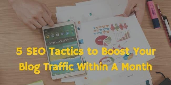 seo tactics for bloggers
