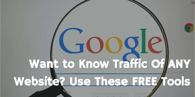 check website traffic for free