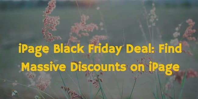 iPage Black Friday Deal 2016: Save 83% Money on iPage Hosting