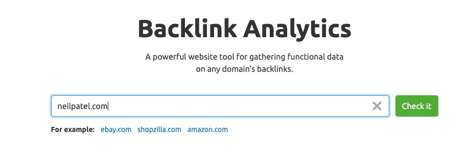 semrush backlink tool
