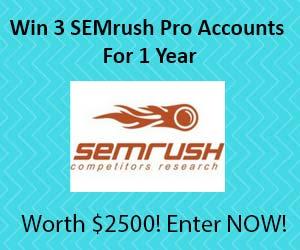Win SEMrush Pro Accounts