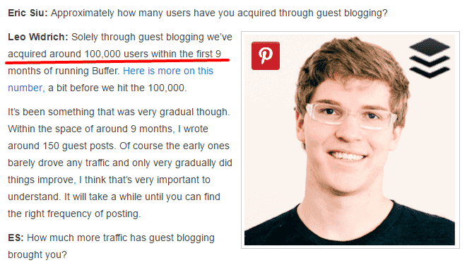 How guest posting helps increase traffic