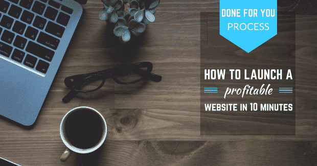 how to launch a website in 10 minutes!