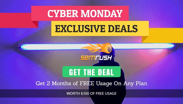semrush-cyber-monday-deal