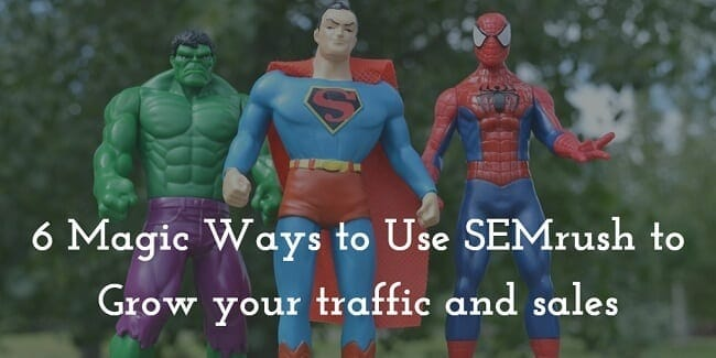 reasons to use semrush