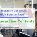 How To Instantly Cut Down Your High Bounce Rate With Interactive Contents