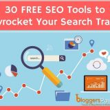 30 FREE SEO Tools You Can Use to Skyrocket Your Search Engine Traffic in 2018