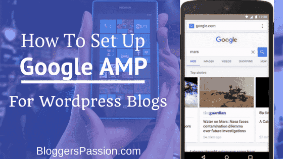 Setting up Google AMP for WordPress Blogs