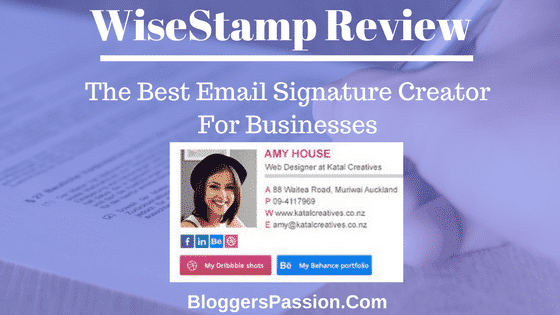 WiseStamp Review