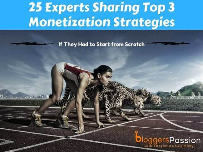 Experts Sharing Top 3 Monetization Strategies