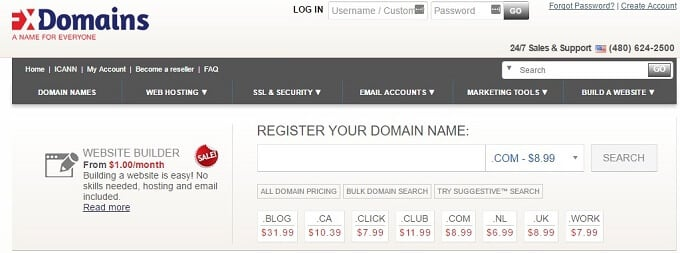 Cheap Domain Registration with FX Domains
