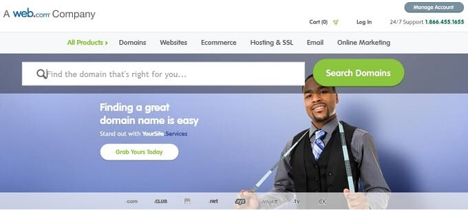 Register.com: Cheap Domain Registration Provider