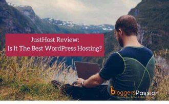 justhost review wordpress