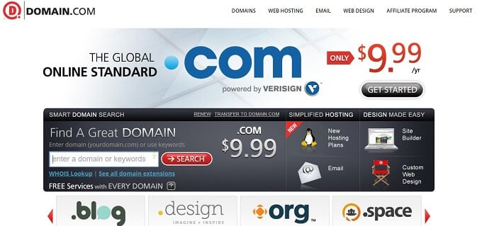 buy cheap domain name from Domain.com
