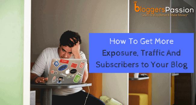 blog exposure: 10 free ways
