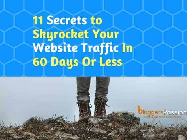 website traffic secrets to boost traffic