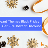Elegant Themes Black Friday 2018 Deal: Get Flat 25% Discount on WordPress Themes
