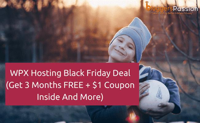 WPX Hosting Black Friday 2018 Deal