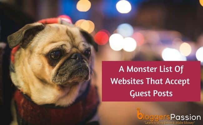 list of guest blogging websites for 2018