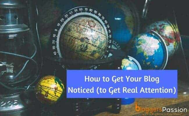 get your blog noticed in 2018