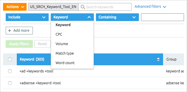 ppc keyword ideas