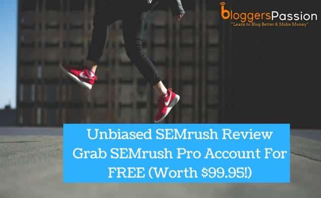 Semrush Review 2018