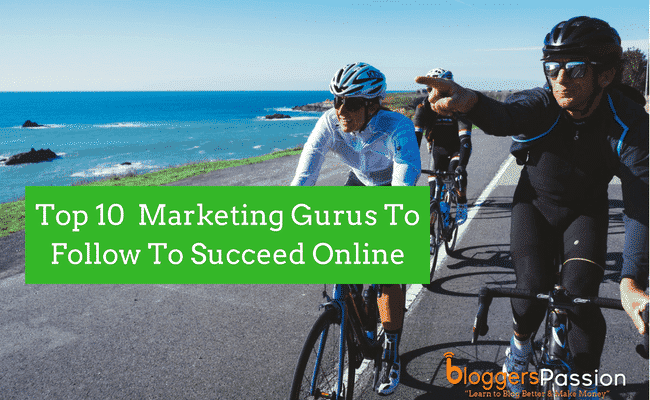 top online marketing gurus in 2018