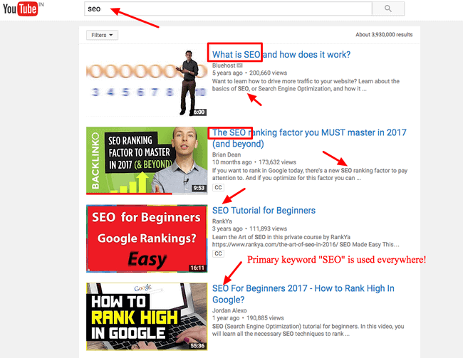 youtube seo thumbnail tips