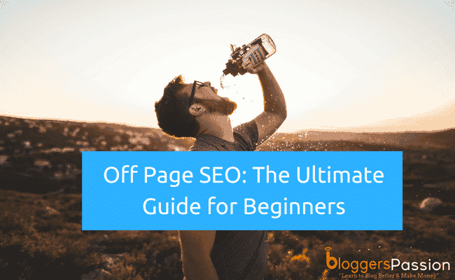 Off Page SEO Techniques in 2018
