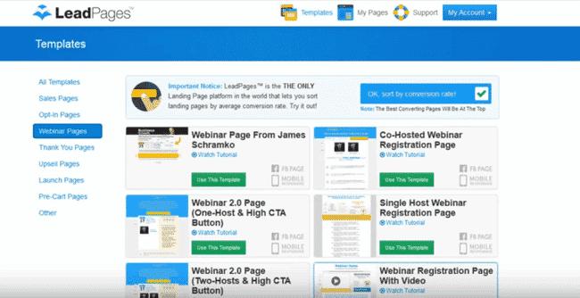 lead webinars