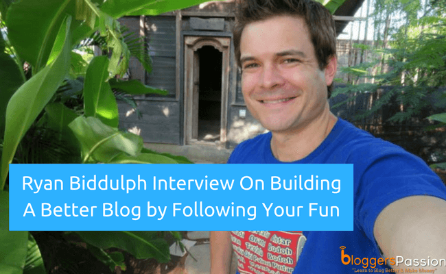 Ryan Biddulph Interview