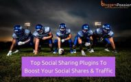 Top 15 WordPress Social Sharing Plugins To Boost Your Social Shares And Traffic