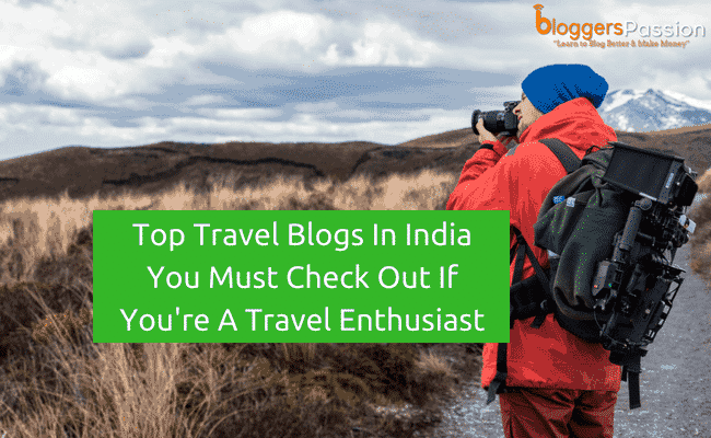 travel blogs in India