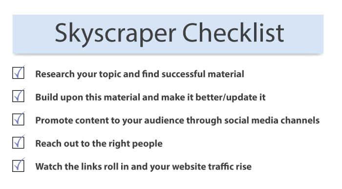 skyscraper checklist