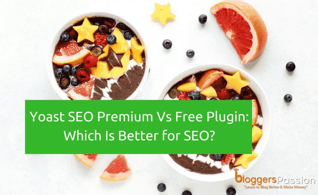 Yoast SEO Premium Vs Free plugin review