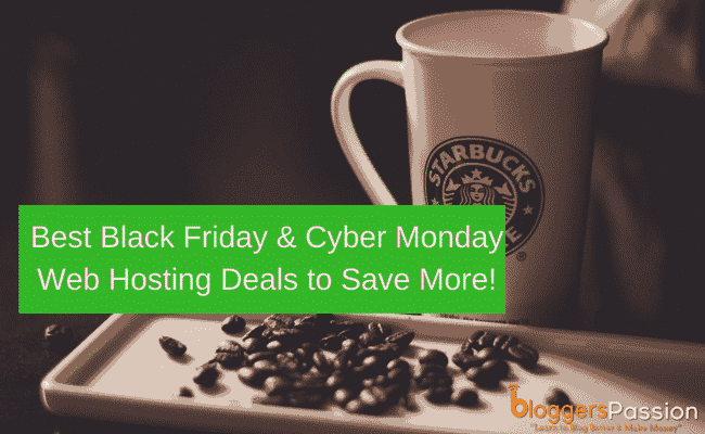 Best Black Friday & Cyber Monday Web Hosting Deals 2019