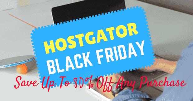 Hostgator Black Friday 2018 deals