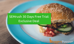 SEMrush 30 Days Free Trial