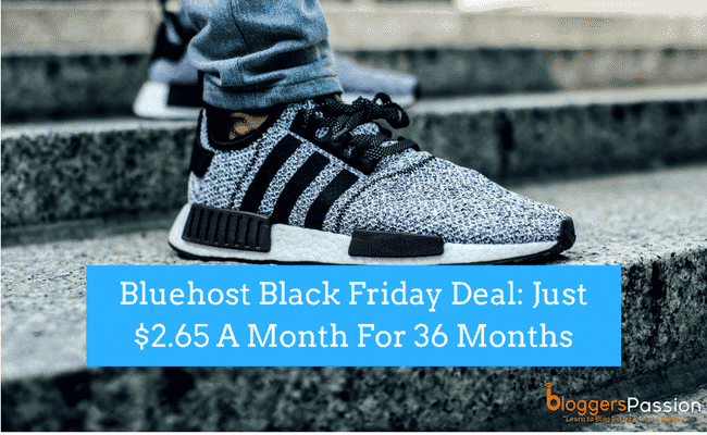 bluehost black friday 2018 deal