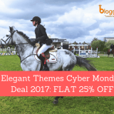 Elegant Themes Cyber Monday Deal 2018: FLAT 25% OFF!!
