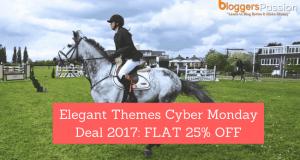 elegant themes cyber monday deal