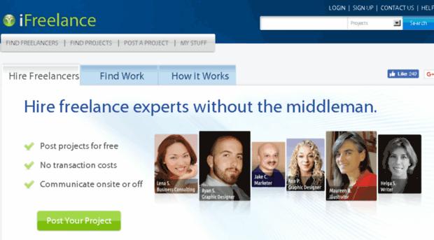 ifreelance.com marketplace