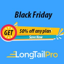 Long Tail Pro Black Friday