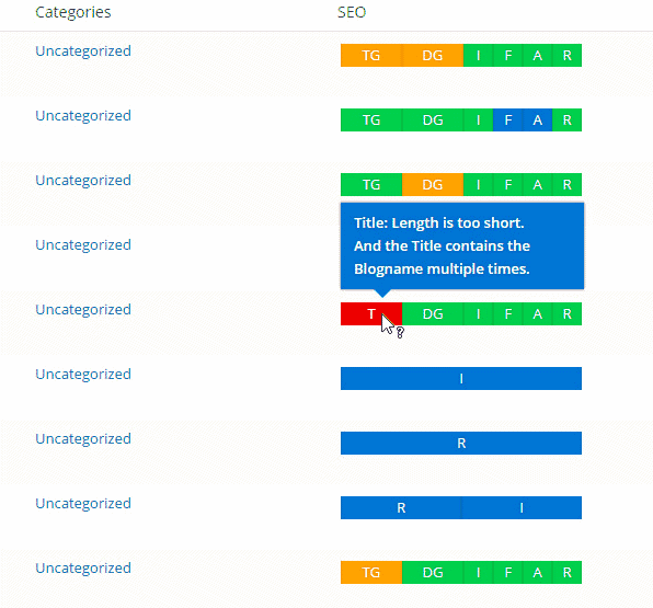 seo framework plugin dashboard