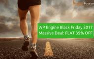 WP Engine Black Friday 2019 Massive Deal [FLAT 35% OFF + 5 1/2 Months Hosting FREE!]