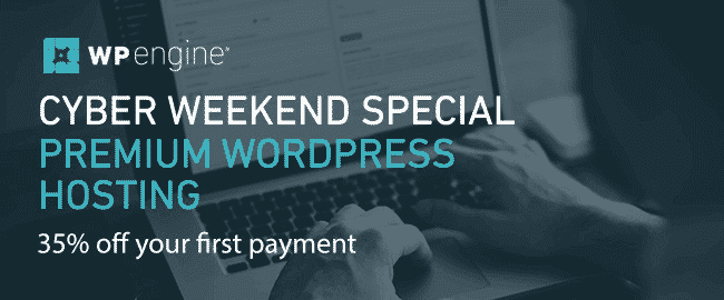 WP Engine Black Friday Deal: Get 35% off
