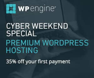 WP Engine Black Friday